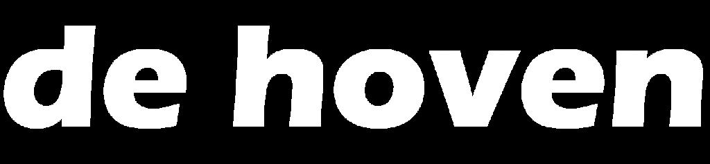 De Hoven Logo White